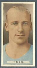 ARDATH-FAMOUS FOOTBALLERS-1934- #19-MANCHESTER CITY-E.BROOK