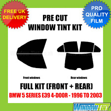 BMW 5 SERIES E39 4-DOOR 1996-2003 FULL PRE CUT WINDOW TINT KIT