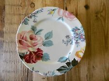 RALPH LAUREN KIRSTY FLORAL SALAD PLATES (8) MADE IN PORTUGAL