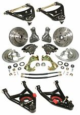 Chevy Chevelle Front Drop spindle disc brakes with econo tubular a-arms