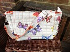 "Cushi cots baby changing/diaper bag ""Butterflies""new"