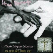Plastic Surgery Disasters/In God We Trust - Dead Kennedys (2007, CD NEUF)