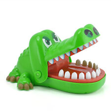 Funny Toy Crocodile Mouth Dentist Bite Finger Game Kids Fashion Game Gift  Hot