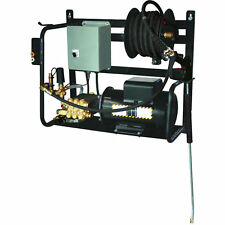 BE Professional 1500 PSI (Electric Cold Water) Wall Mount Pressure Washer