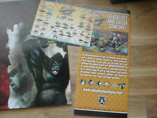 MONSTERPOCALYPSE PROMO PACK :S.M.A.S.H + I CHOMP NY FLYERS+ 2 POSTERS