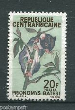 CENTRAFRICAINE 1966, timbre 77, RONGEURS, PRIONOMYS, neuf (*), RODENT, VF STAMP