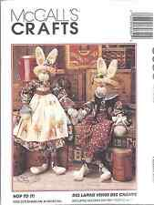 """8035 UNCUT Vintage McCalls SEWING Pattern Hop to it 34"""" Bunnies + Clothes Craft"""