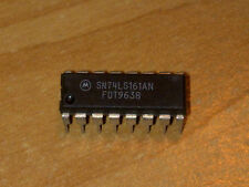CIRCUIT INTEGRE - SN74LS161AN - BCD DECADE COUNTERS/ 4-BIT BINARY COUNTERS