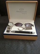 Christian Daniels New York Pen, watch, key ring and sun glasses   boxed gift set