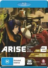 Ghost in the Shell Arise Part 2 NEW B Region Blu Ray