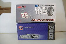~KEVIN HARVICK~2002 MONTE CARLO~1:24 STOCK CAR~ACTION COLLECTIBLE~GOODWRENCH~