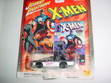 JOHNNY LIGHTNING MARVEL X-MEN CROWN VICTORIA WITH RUBBER TIRES FREE USA SHIPPING