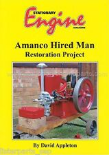 Amanco Hired Man Restoration Project Book By David Appleton - Stationary Engine