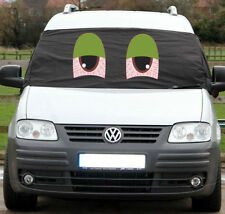 VW Caddy Window Black Front Screen Curtain Wrap Cover Frost Protect Blind Eyes