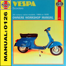 vespa haynes manual ebay. Black Bedroom Furniture Sets. Home Design Ideas