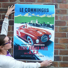 Car poster motorsport automobile racing poster-A1 Le Comminges Grand Prix