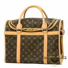 LOUIS VUITTON Monogram sacs Shan 40 pet carrying case M42024 Free Shipping