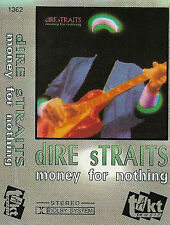 DIRE STRAITS MONEY FOR NOTHING CASSETTE ALBUM POLISH TAKT MUSIC POP ROCK 10trac