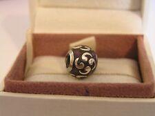 Genuine Pandora Sterling Silver Purple Zen Charm 790491EN13 3223