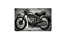 1953 mac Bike Motorcycle A4 Retro Metal Sign Aluminium