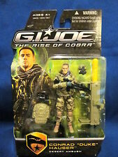 GI Joe The Rise of Cobra Conrad Duke Hauser Desert Ambush