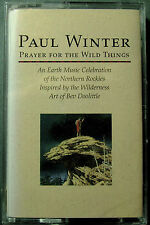 Prayer for the Wild Things by Paul Winter (Sax) (Cassette, Living Music) NEW
