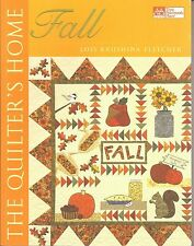 The Quilter's Home FALL Quilt Pattern Book...Lois Krushina Fletcher...Excellent