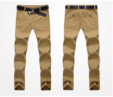 ZP9843 New Mens Fashion Slim Fit Skinny Pencil Trousers Long Casual Pants Jeans