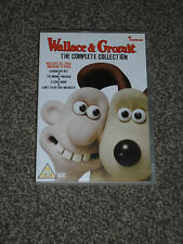 WALLACE & GROMIT : THE COMPLETE COLLECTION CHILDRENS DVD IN VGC (FREE UK P&P)