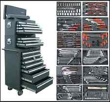 07 US Pro Tool Black steel Chest Box roll cabinet kit with tools BUY ON FINANCE