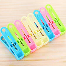 20pcs Plastic Clips Laundry Clothes Pins Socks Hanging Windproof Pegs Supplies