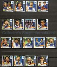 Greece-2004 Athens 12th Issue Greek Olympic Champions Incl.Sambanis 17  MNH **