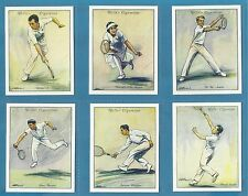 Wills cigarette cards - LAWN TENNIS - Full mint condition set. Free P+P
