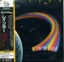 RAINBOW Down to Earth (1979) Japan Mini LP SHM-CD UICY-93622