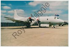 35mm Neg and colour print of Australian Air Force Lockheed Orion at Waddington