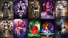 DOCTOR WHO (Dr WHO) - Job lot of Ten X A4 art prints