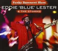 EDDIE 'BLUE' LESTER - FUNKY BASEMENT BLUES  CD NEU 1