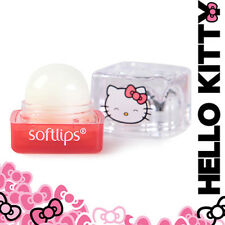 [MENTHOLATUM] SOFTLIPS HELLO KITTY Shea Butter Cube Lip Balm SPF15 STRAWBERRY