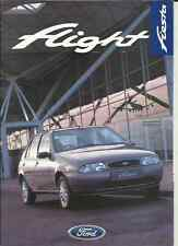 FORD FIESTA FLIGHT SPECIAL EDITION SALES BROCHURE FEBRUARY 1997