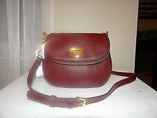 MICHAEL Michael Kors Sm. Bedford Flap Shoulder / Cross-Body Bag. Merlot MSRP 178