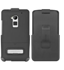 OEM Seidio Surface Combo Holster&Case Cover For HTC One Max T6 W/KickStand Black