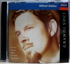 ALFRED DELLER, COUNTERTENOR (PURCELL HÄNDEL/HANDEL BACH CAMPION BUXTEHUDE) CD