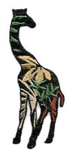 Giraffe - Jungle Design - Embroidered Iron On Applique Patch