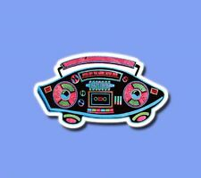 Skateboard Music young sporty colorful Sticker Guitar Car Vinyl Laptop Decal
