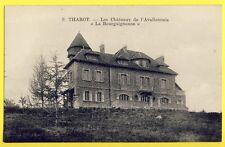 cpa Environs d'Avallon THAROT (Yonne) CHÂTEAU Résidence Chalet La BOURGUIGNONNE