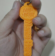 Land Rover Keyring Rubber Tags Novelty Keychain 3D Name Key Fob Personalised car