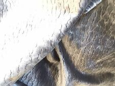 MANUEL CANOVAS KENZA VELVET FABRIC Mouse GRAY ANIMAL-SOFT /TEXTURE msrp $335Y!