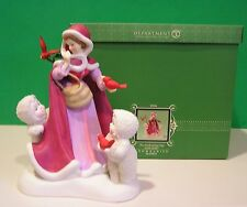 Dept 56 SNOWBABIES Disney AN ENCHANTING DAY with BELLE NEW in BOX Beauty & Beast