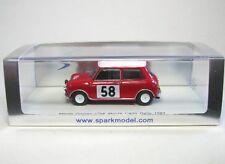 Morris Mini Cooper No. 58 Rally Monte Carlo 1963