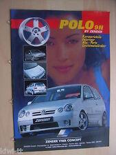 Volkswagen Polo 9N by Zender Prospekt / Brochure / Depliant, D / GB, ca.2004